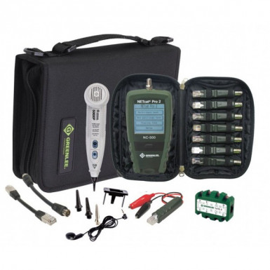 Greenlee NetPro KIT - набор для тестирования сети